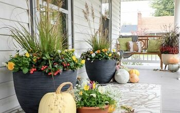 Fall Planters - That Will Come Back in the Spring!