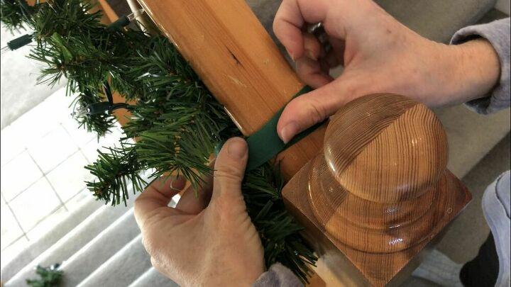 ways to make hanging holiday lights easier