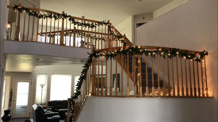 ways to make hanging holiday lights easier