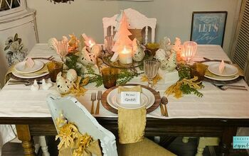 Thanksgiving Tablescape Ideas!