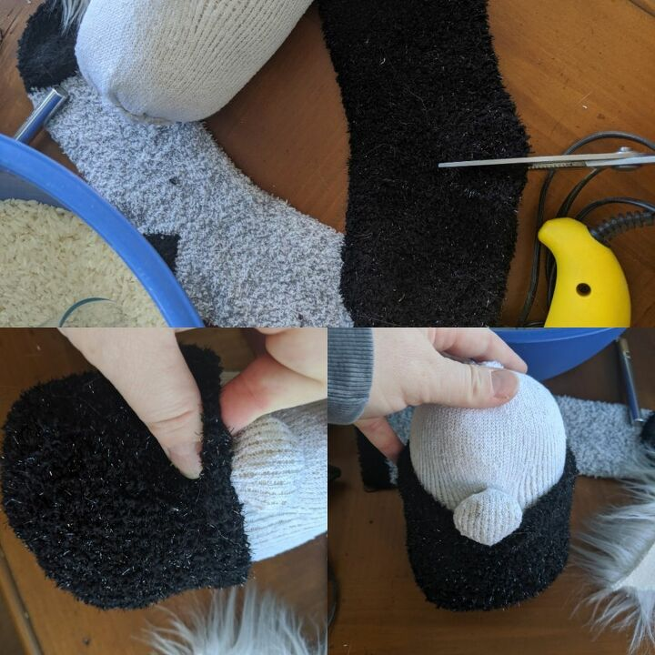 this is how i make easy christmas socks gnomes