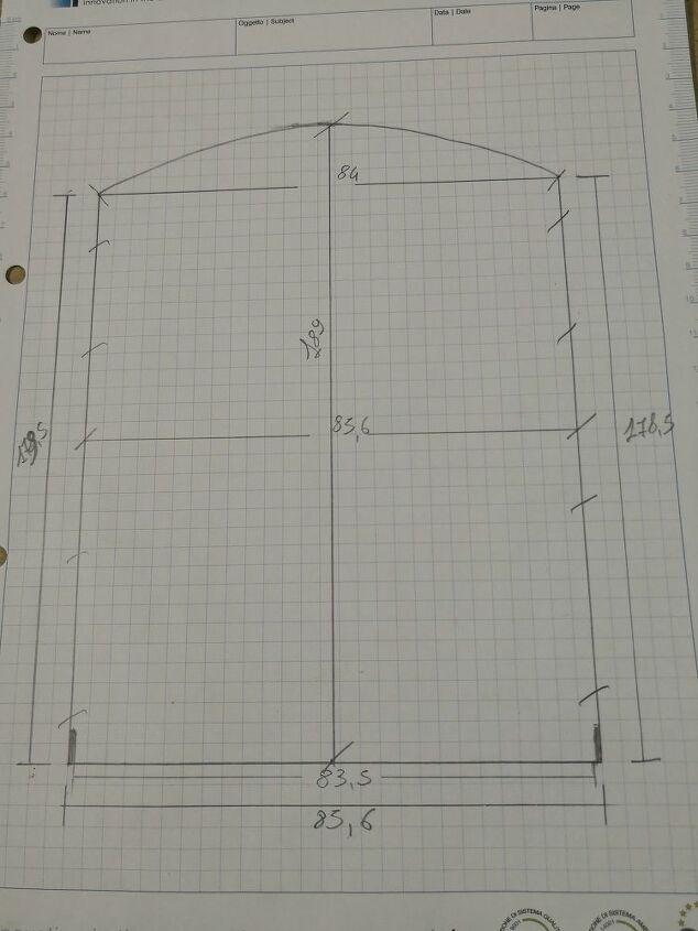 how to make recess wall doors
