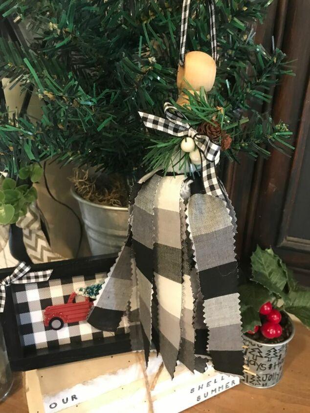tassel christmas tree ornament