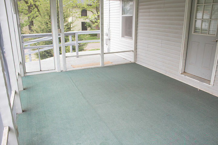 how to paint outdoor carpet