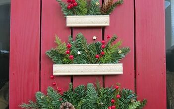 DIY Rustic Farmhouse Christmas Tree