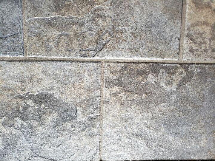 q my kitchen ceramic floor tiles are dark