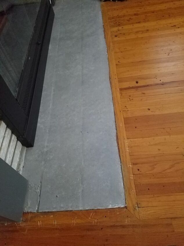 q looking for ideas to do with are floor level hearth