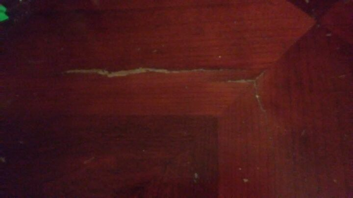 q how do i redo repair what i think is a veneer table