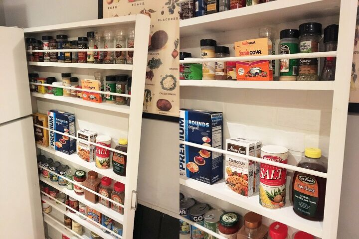 Sliding Kitchen Pantry Storage Cabinet