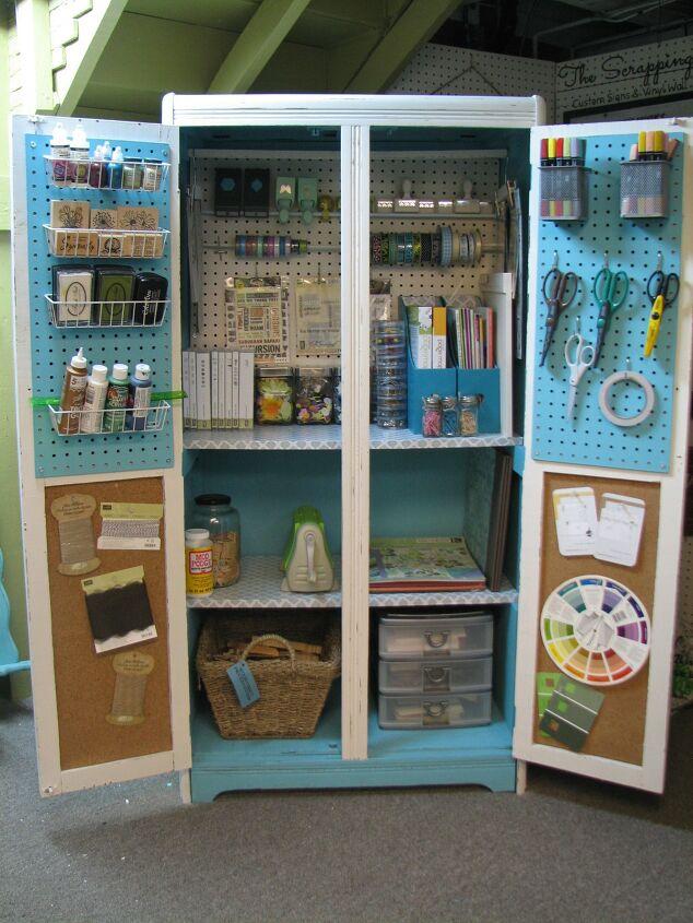 DIY craft room cabinet ideas