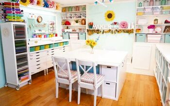18 Exciting Ways to Create the Perfect Craft Room Furniture