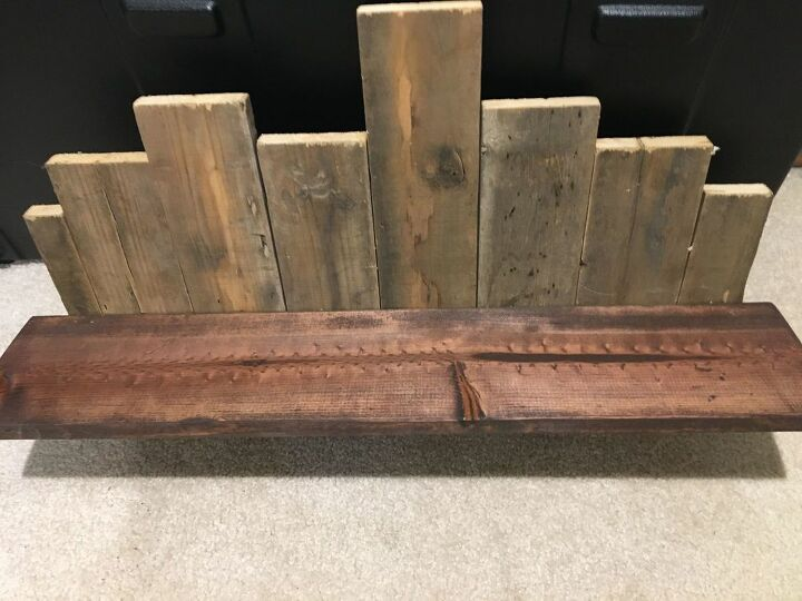 a rustic shelf you can afford to make