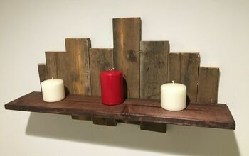 A Rustic Shelf You Can Afford to Make!