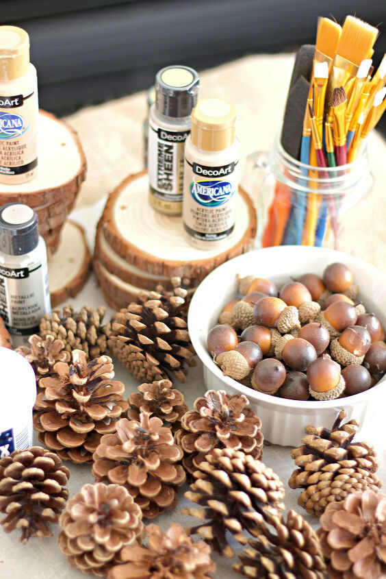christmas ornament diy with decoart