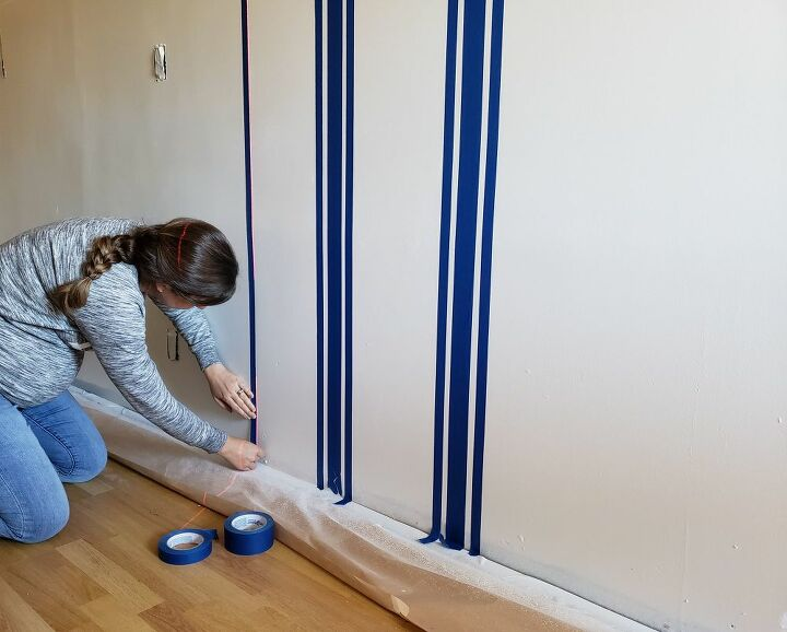 a mudroom wall makeover
