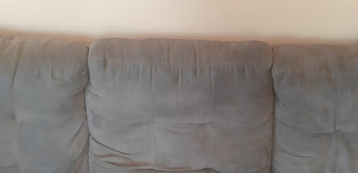 q how can i get the dirt out of the couch