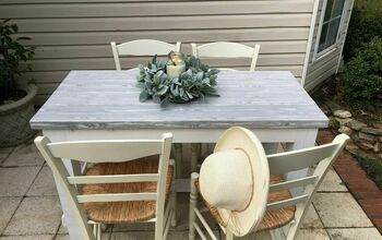 Create The Perfect Farmhouse Table With A Painted Wood-Grain Effect