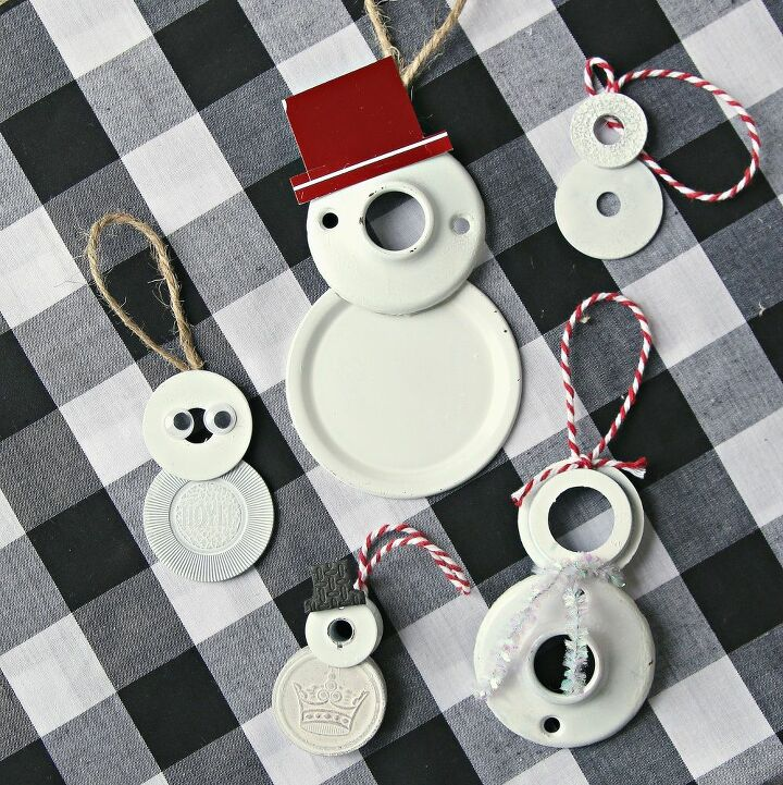 snowmen christmas ornaments