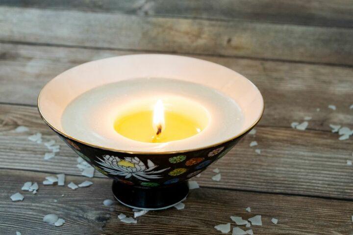 homemade lavender eucalyptus candles