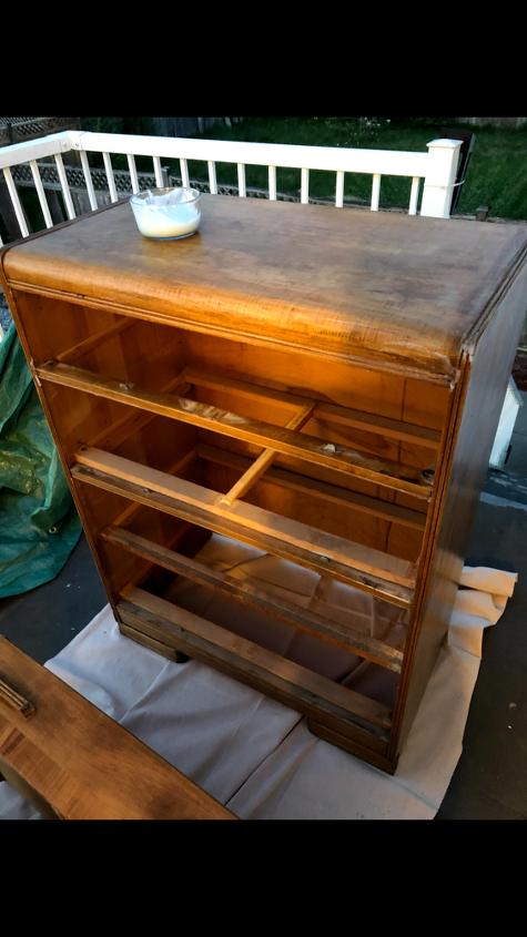 farmhouse vintage dresser