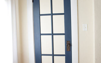 DIY Faux French Door
