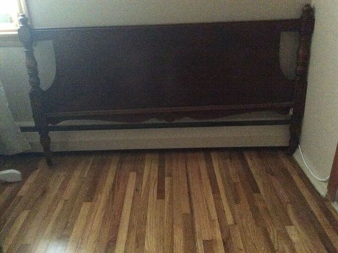 q what to do with unused footboard