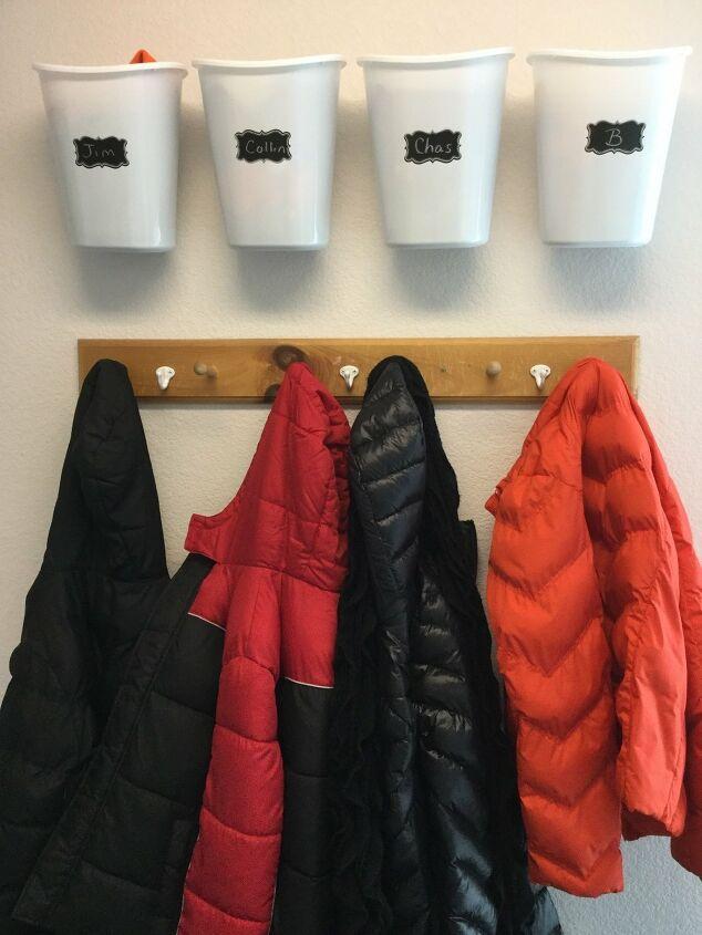 simple entryway coat rack
