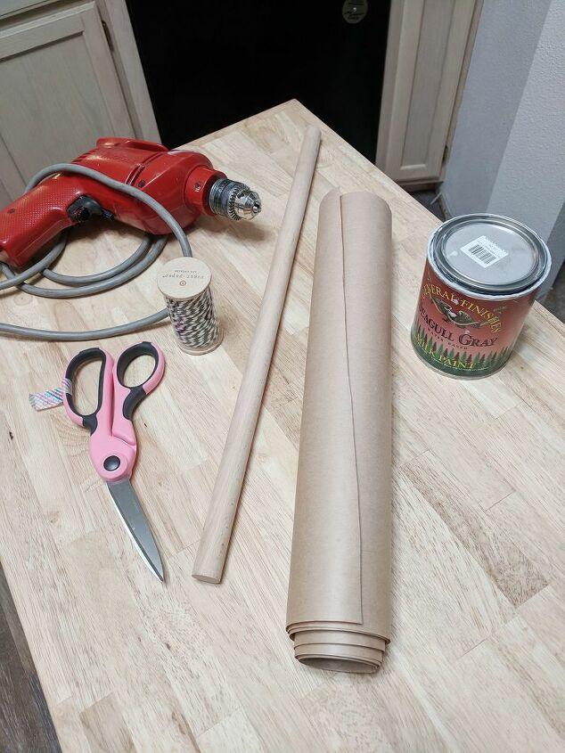 kraft paper roll dispenser two ways