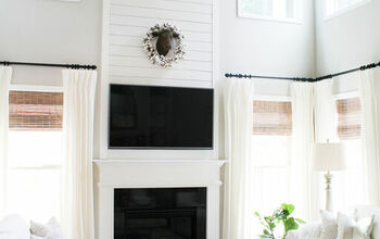 DIY Shiplap Fireplace Tutorial