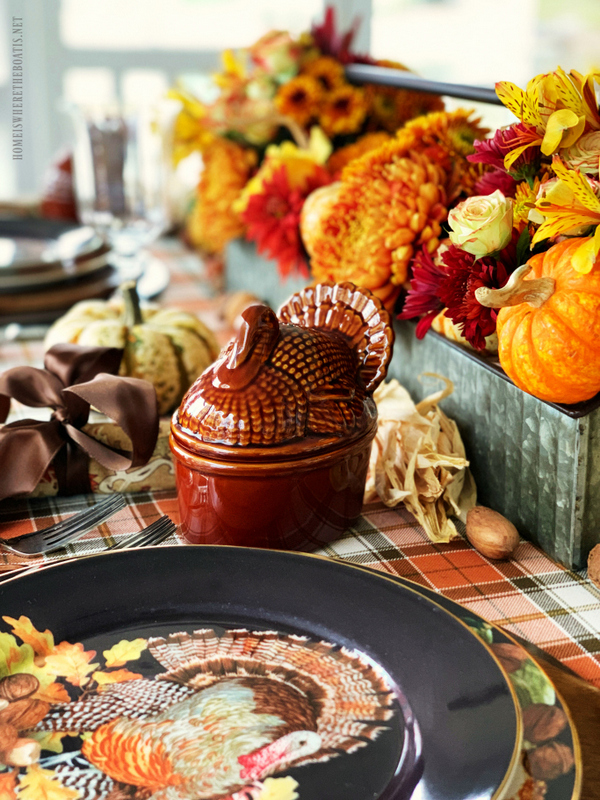 diy floral centerpiece for thanksgiving