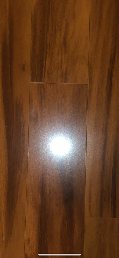 q what are these weird white marks on my laminate and how do i clean it