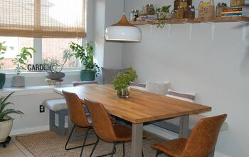 Create the Perfect Kitchen Nook With Non-built-in's