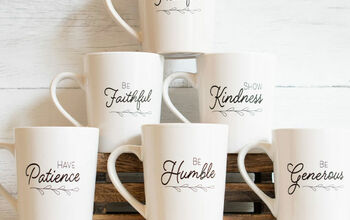 Easy DIY Inspirational Coffee Cup Gift Set