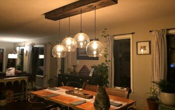 Large Globe Light Fixture