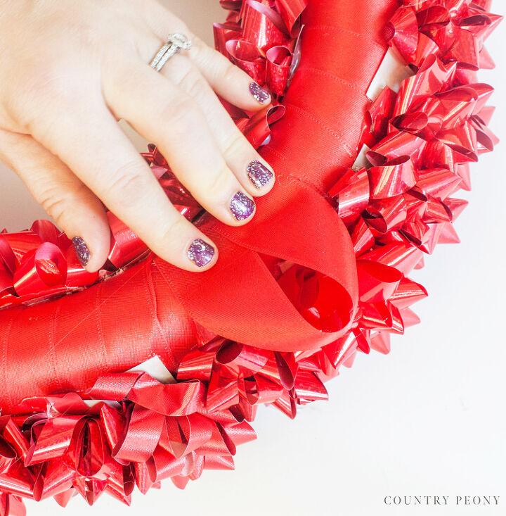 diy christmas bow wreath