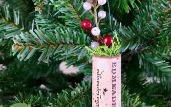 Wine Cork Planter Ornament