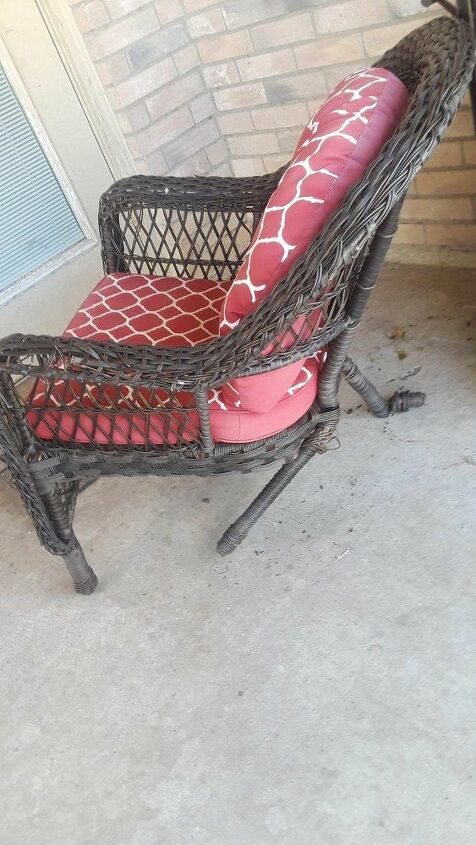 q how can i fix this chair to use as a swing chair