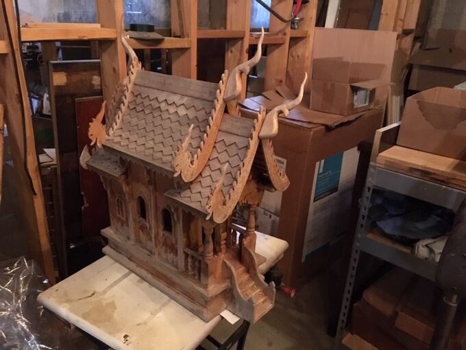 q requesting input on what to do with a thai spirit housei was gifted