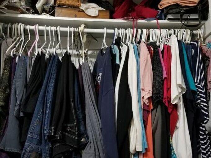 q how do i organize small closet