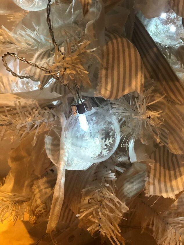 rustic dollar tree rag christmas tree diy