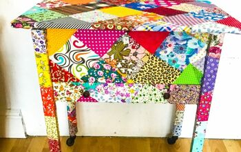 How to Patch up an Old Sewing Table!