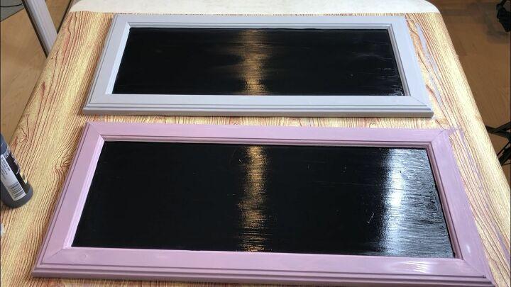 cabinet door serving trays