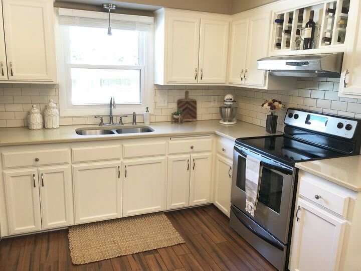 """The """"After"""" picture of our kitchen"""