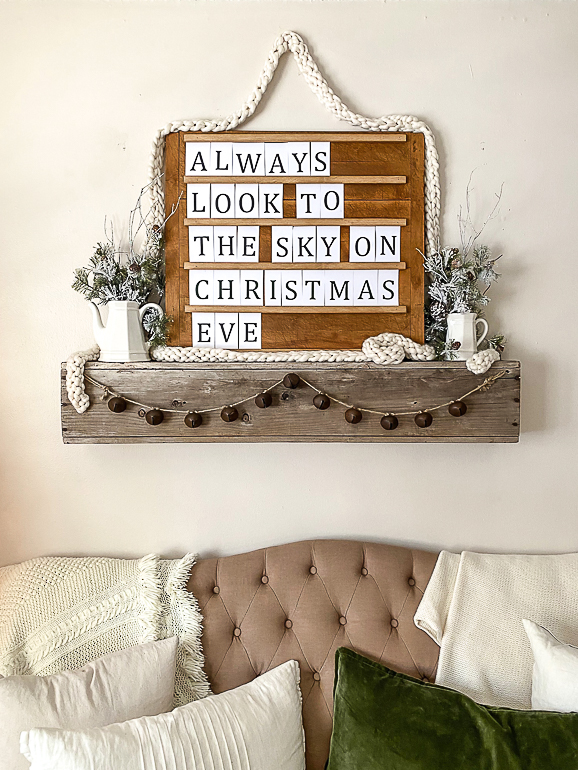 how to make a wood letter board for free