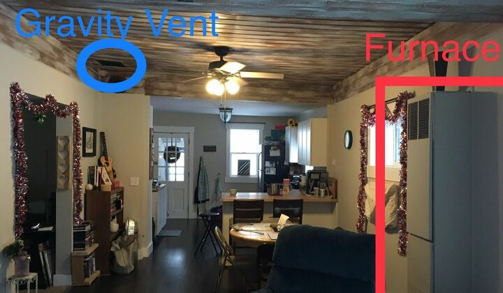 q how do i improve heat flow to my upstairs