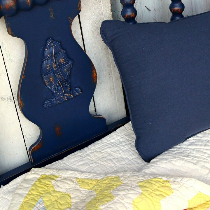 twin bed paint makeover