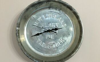 DIY Vintage Pie Tin Clock