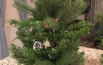 Up-cyled Project of Old Christmas Tree