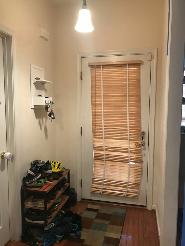 updated tiny entryway