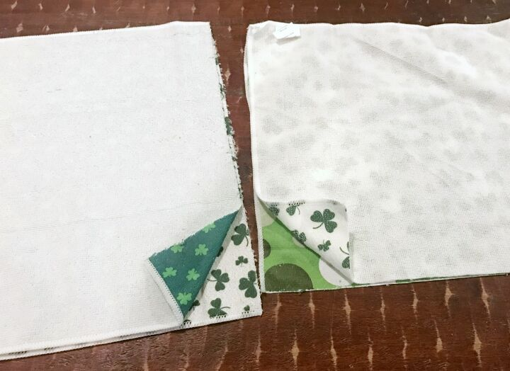 how to no sew make pillows from hand towels